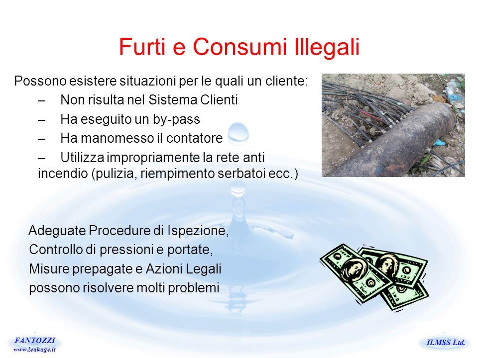 Furti e Consumi Illegali