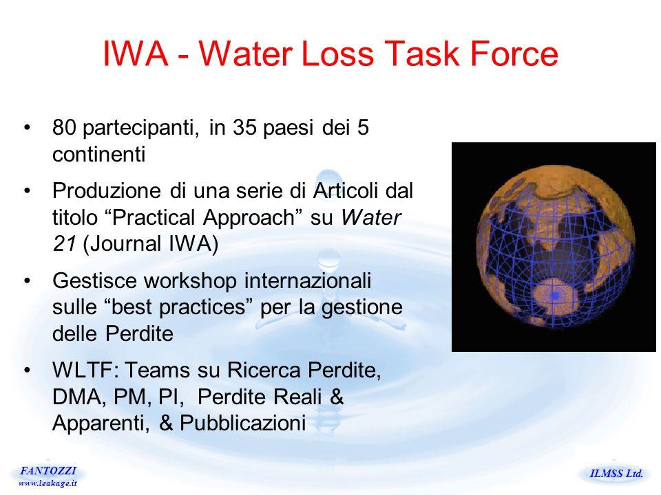 IWA - Water Loss Task Force