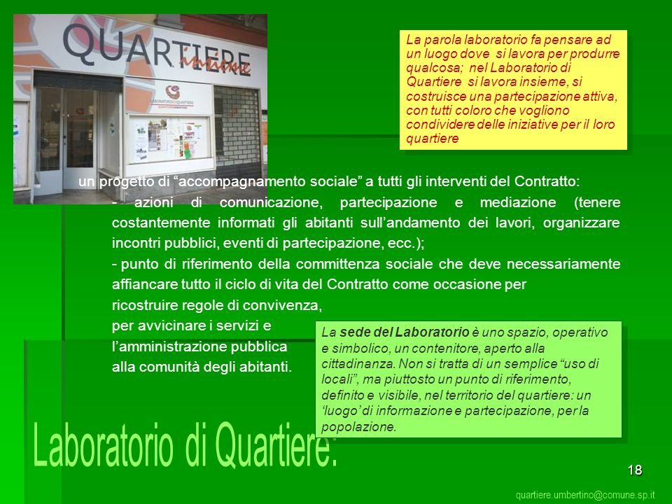 Laboratorio di Quartiere:
