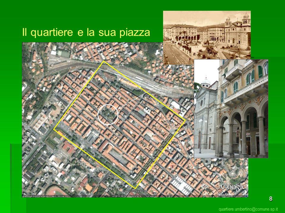 Il quartiere e la sua piazza