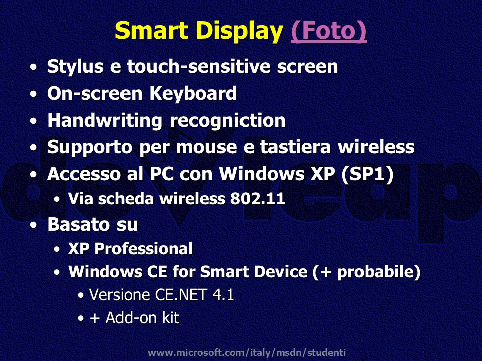 Smart Display (Foto) Stylus e touch-sensitive screen