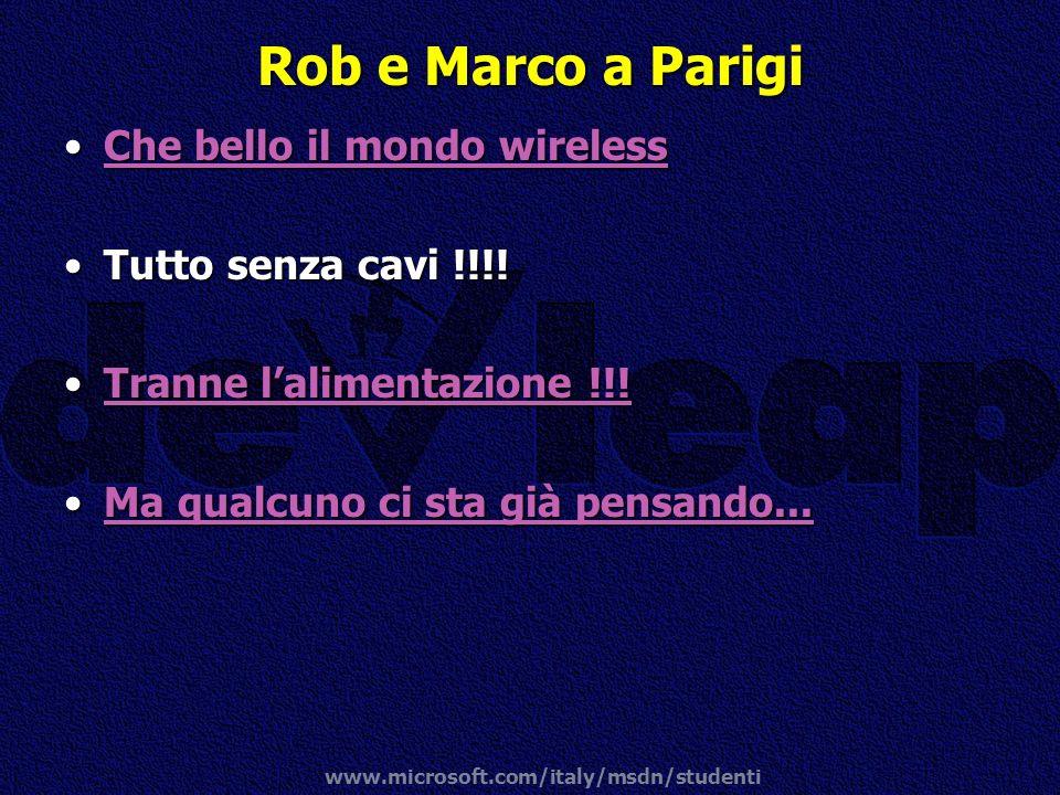 Rob e Marco a Parigi Che bello il mondo wireless Tutto senza cavi !!!!