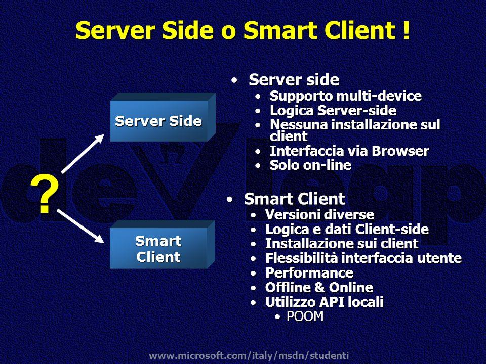 Server Side o Smart Client !