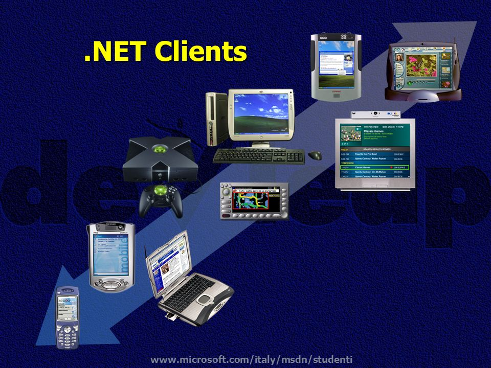 .NET Clients www.microsoft.com/italy/msdn/studenti