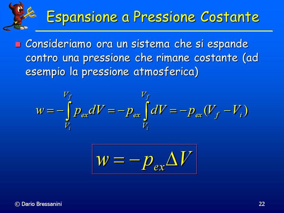 Espansione a Pressione Costante