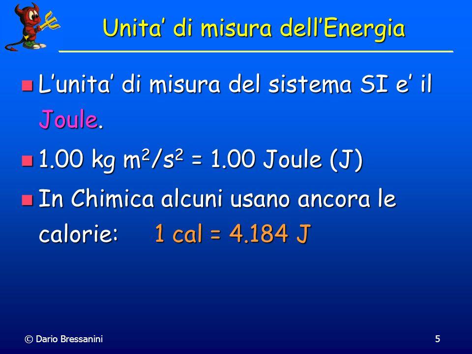 Unita' di misura dell'Energia