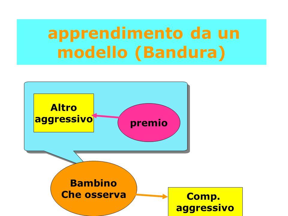 apprendimento da un modello (Bandura)
