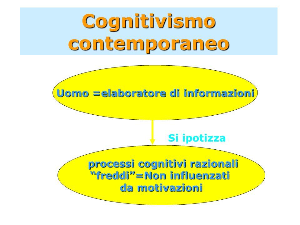 Cognitivismo contemporaneo