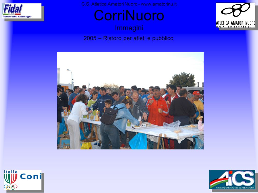 C.S. Atletica Amatori Nuoro - www.amatorinu.it CorriNuoro Immagini
