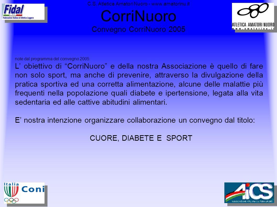 C. S. Atletica Amatori Nuoro - www. amatorinu