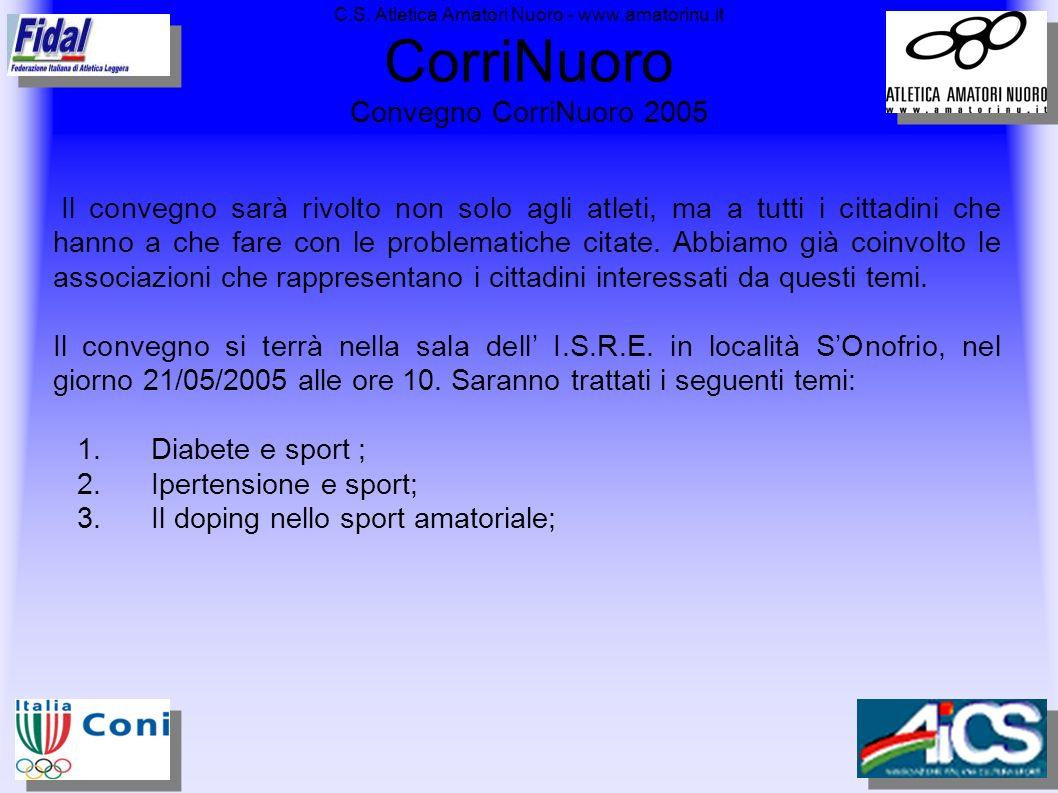 3. Il doping nello sport amatoriale;