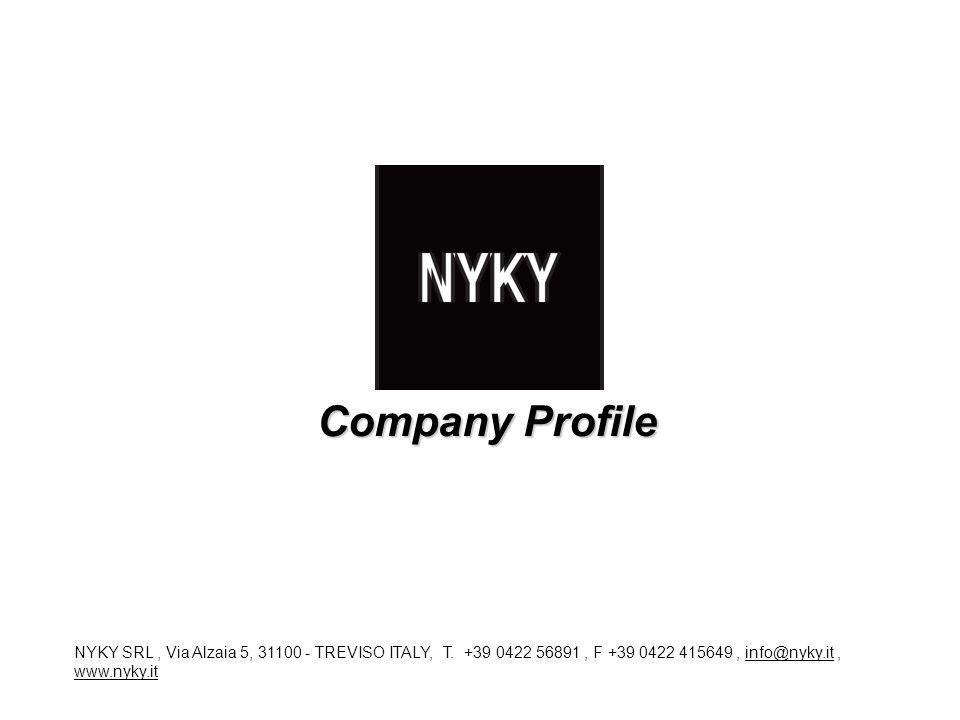 Company Profile NYKY SRL , Via Alzaia 5, 31100 - TREVISO ITALY, T.