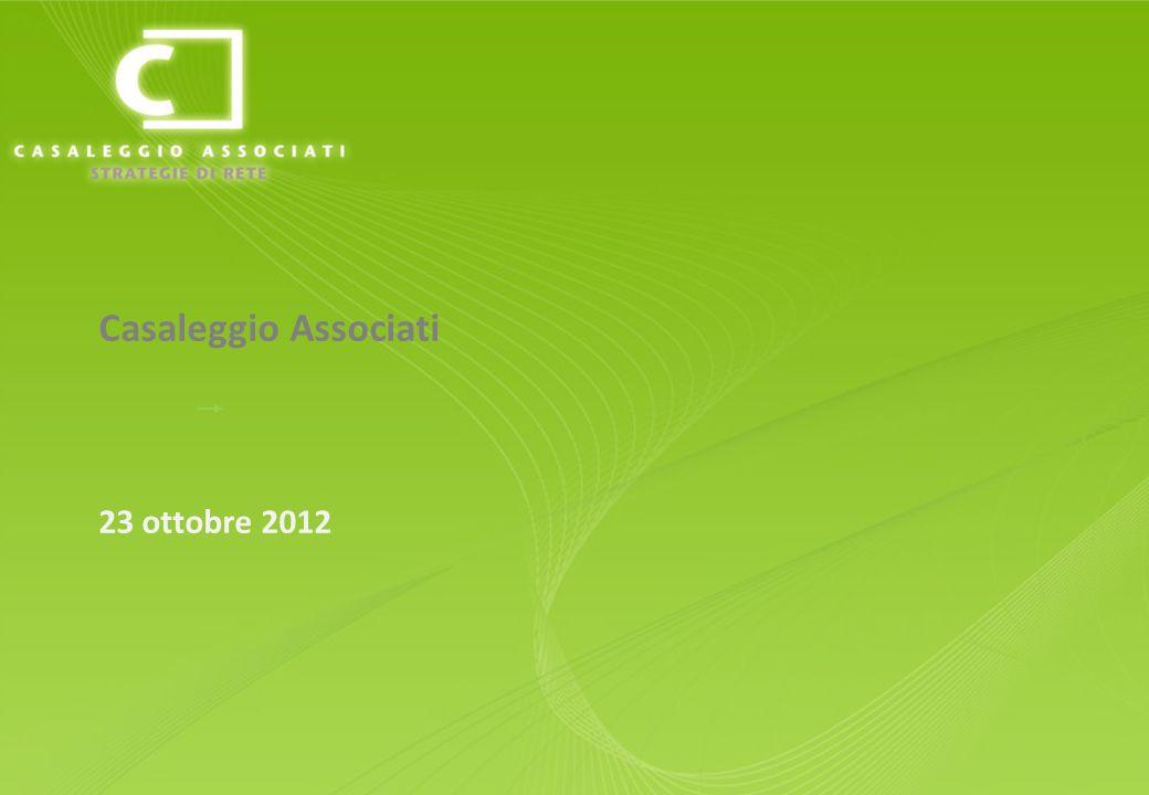 Casaleggio Associati 23 ottobre 2012