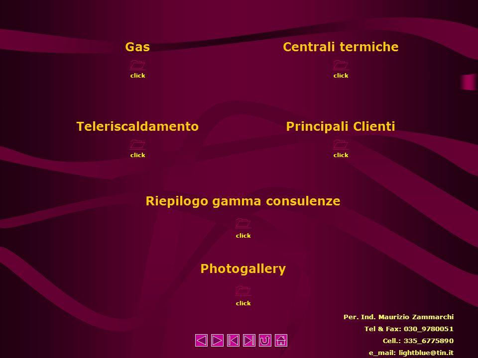 Riepilogo gamma consulenze