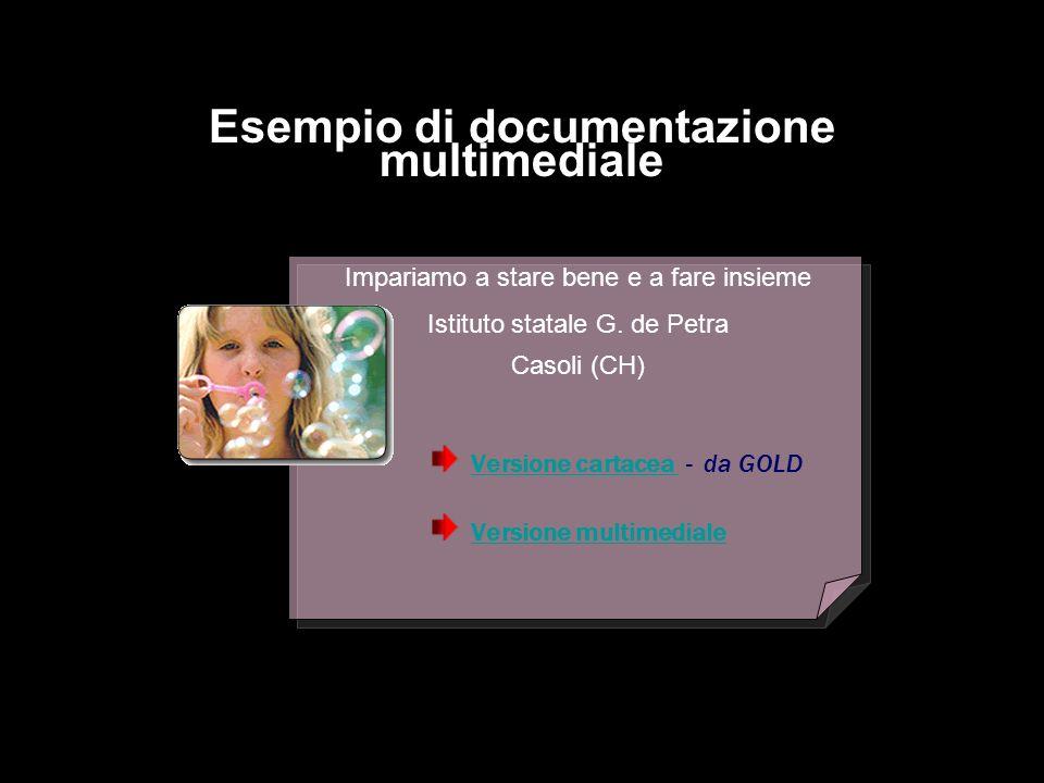 Esempio di documentazione multimediale