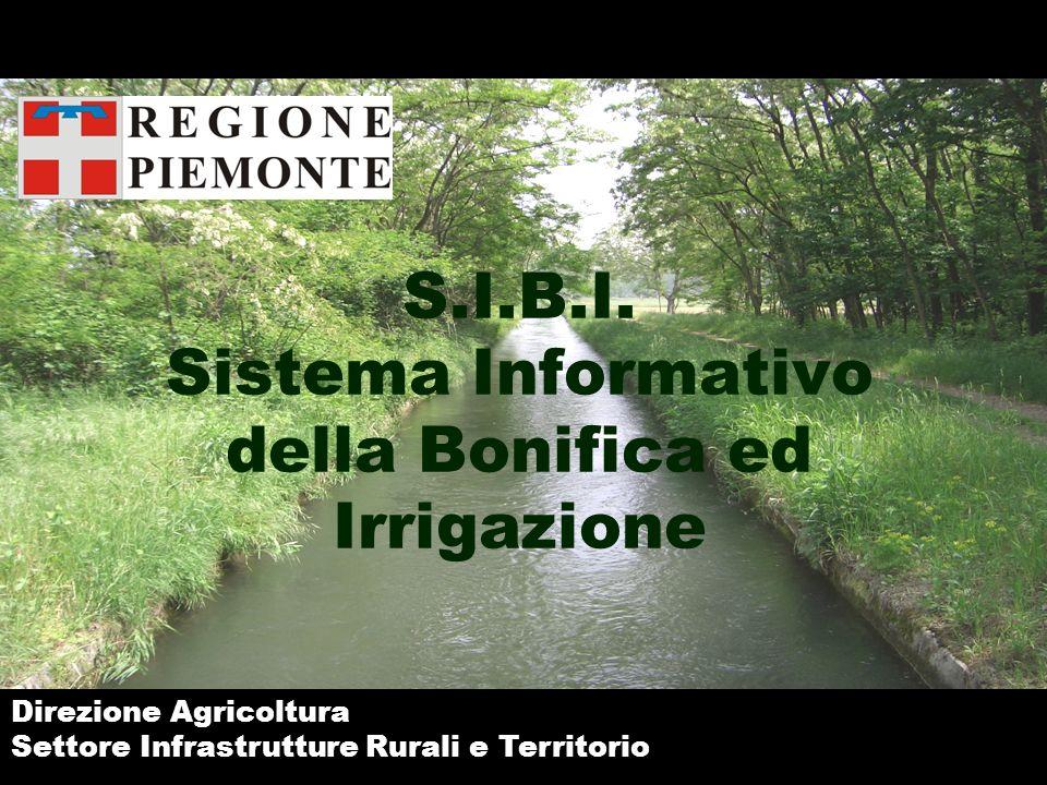 S.I.B.I. Sistema Informativo della Bonifica ed Irrigazione
