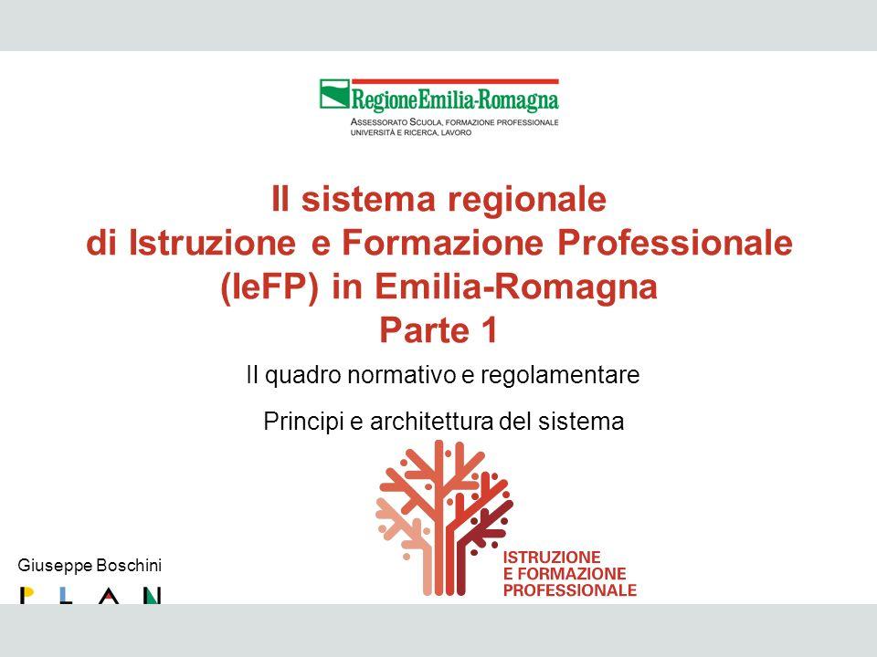 di Istruzione e Formazione Professionale (IeFP) in Emilia-Romagna