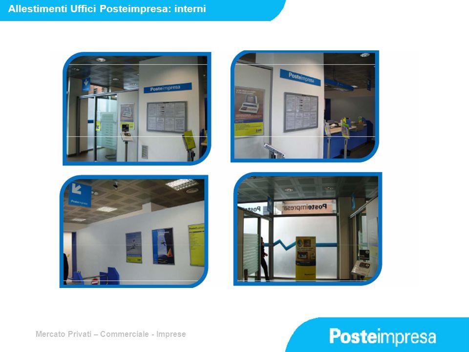 Allestimenti Uffici Posteimpresa: interni
