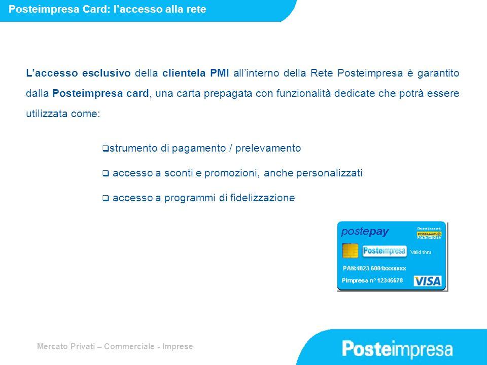 Posteimpresa Card: l'accesso alla rete