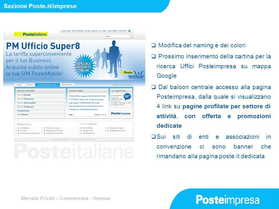 Sezione Poste.it/imprese