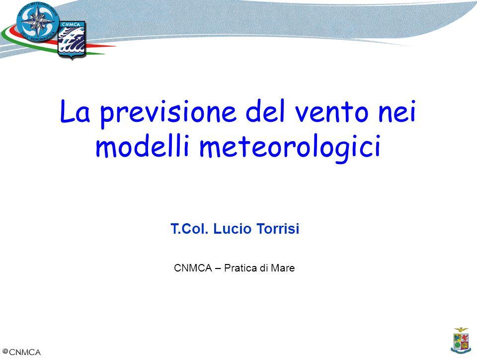 La previsione del vento nei modelli meteorologici