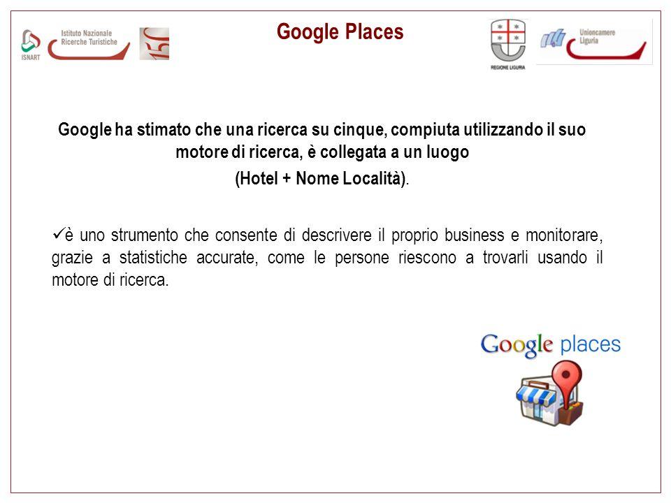 (Hotel + Nome Località).