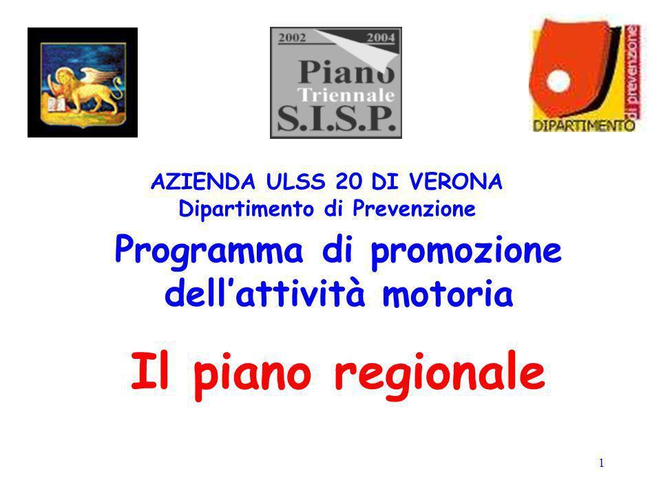 Programma di promozione dell'attività motoria