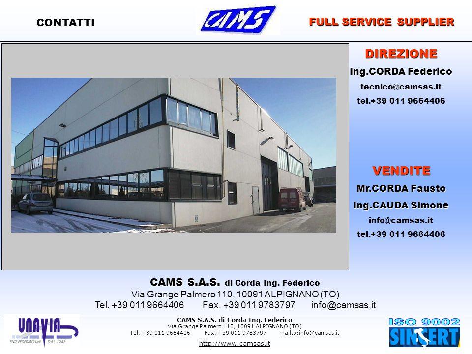 CAMS S.A.S. di Corda Ing. Federico