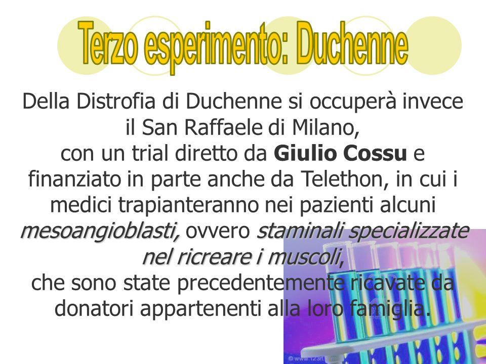 Terzo esperimento: Duchenne