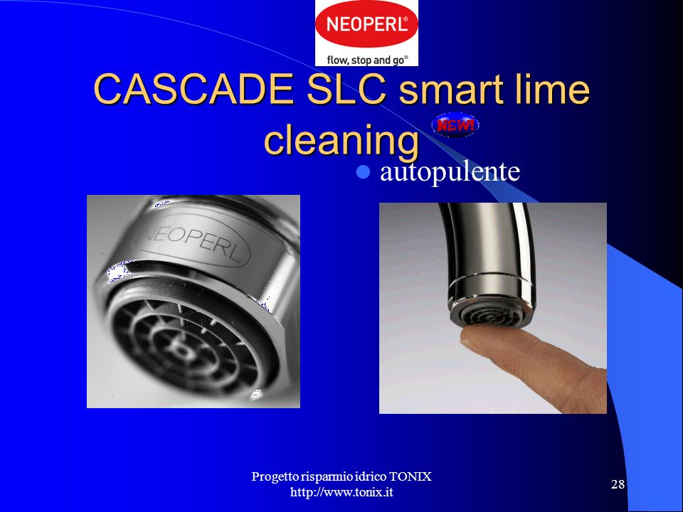 CASCADE SLC smart lime cleaning