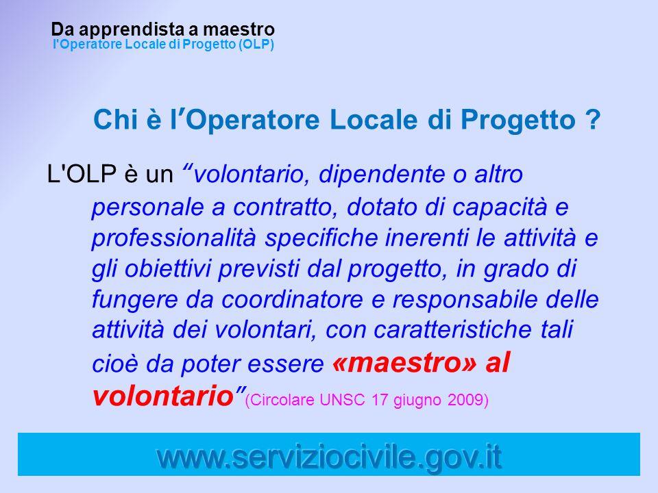 Chi è l'Operatore Locale di Progetto