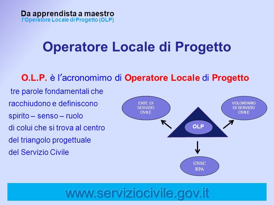 Operatore Locale di Progetto