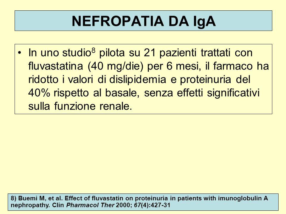 NEFROPATIA DA IgA