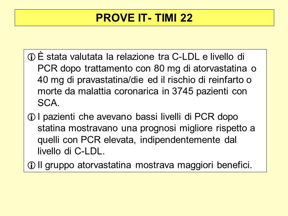 PROVE IT- TIMI 22