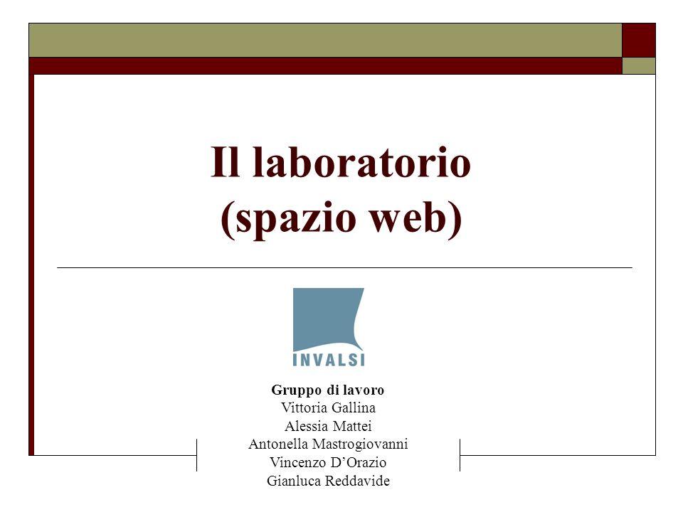 Il laboratorio (spazio web)