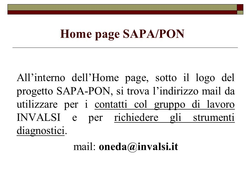 Il laboratorio spazio web ppt scaricare for Interno mail