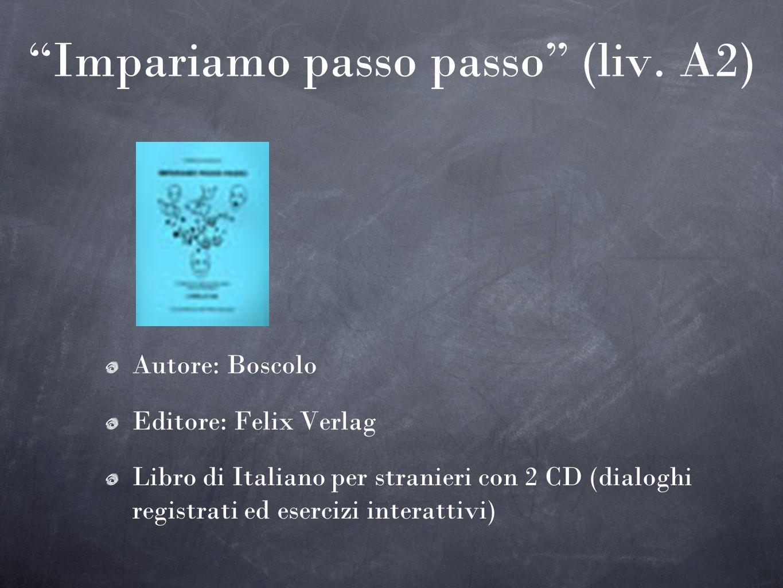 Impariamo passo passo (liv. A2)