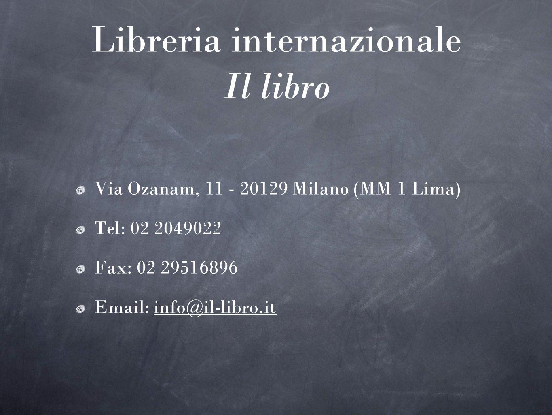 Libreria internazionale Il libro