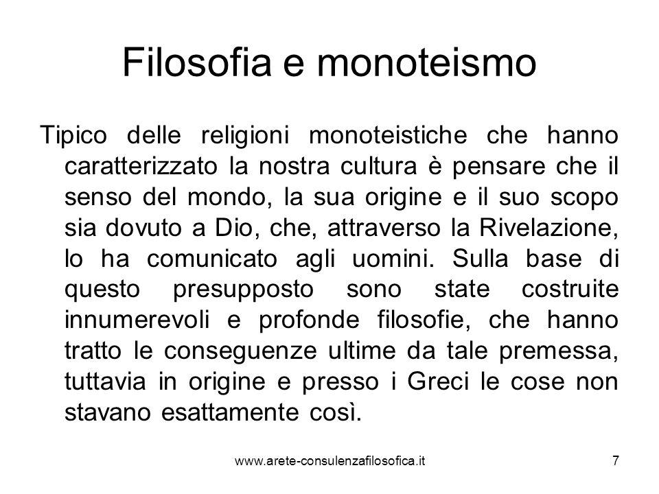 Filosofia e monoteismo