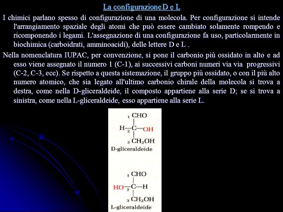 La configurazione D e L