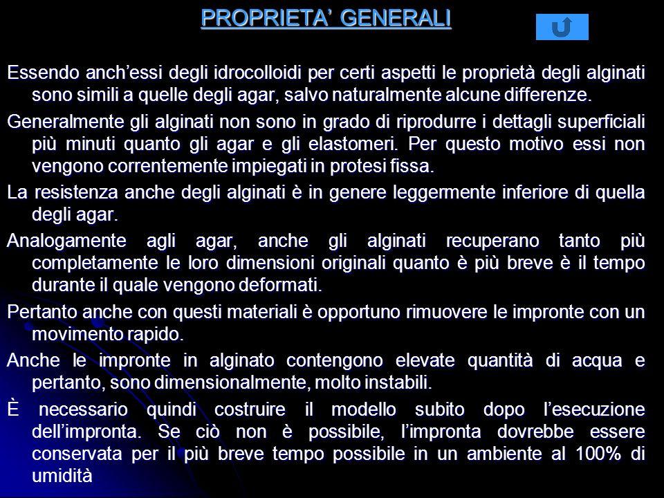 PROPRIETA' GENERALI