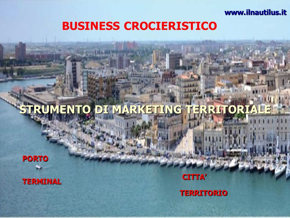 BUSINESS CROCIERISTICO STRUMENTO DI MARKETING TERRITORIALE