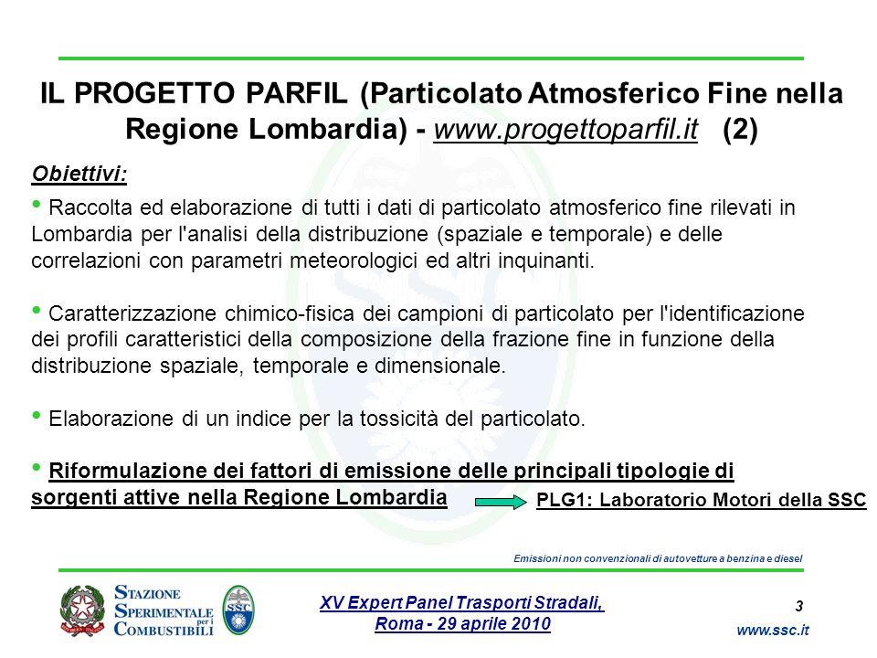 IL PROGETTO PARFIL (Particolato Atmosferico Fine nella Regione Lombardia) - www.progettoparfil.it (2)