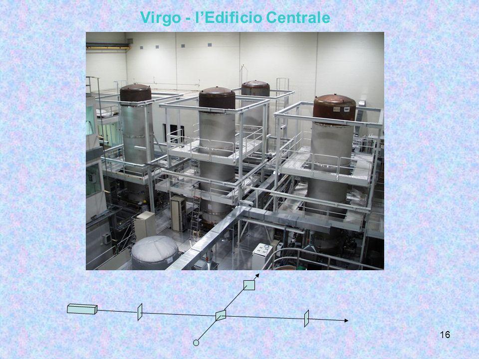 Virgo - l'Edificio Centrale