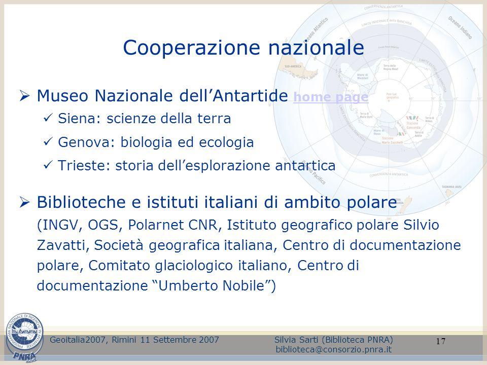 Cooperazione nazionale
