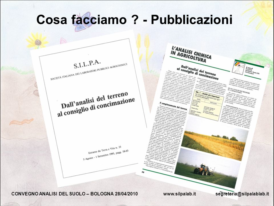 Cosa facciamo - Pubblicazioni