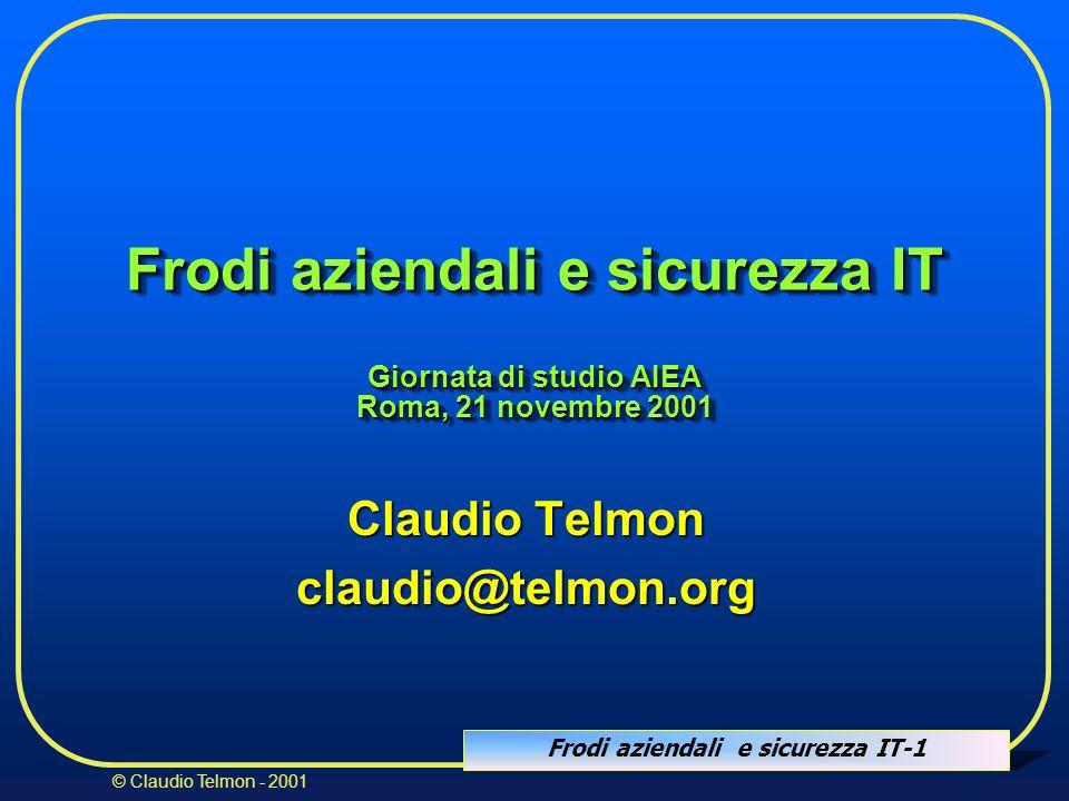 Claudio Telmon claudio@telmon.org