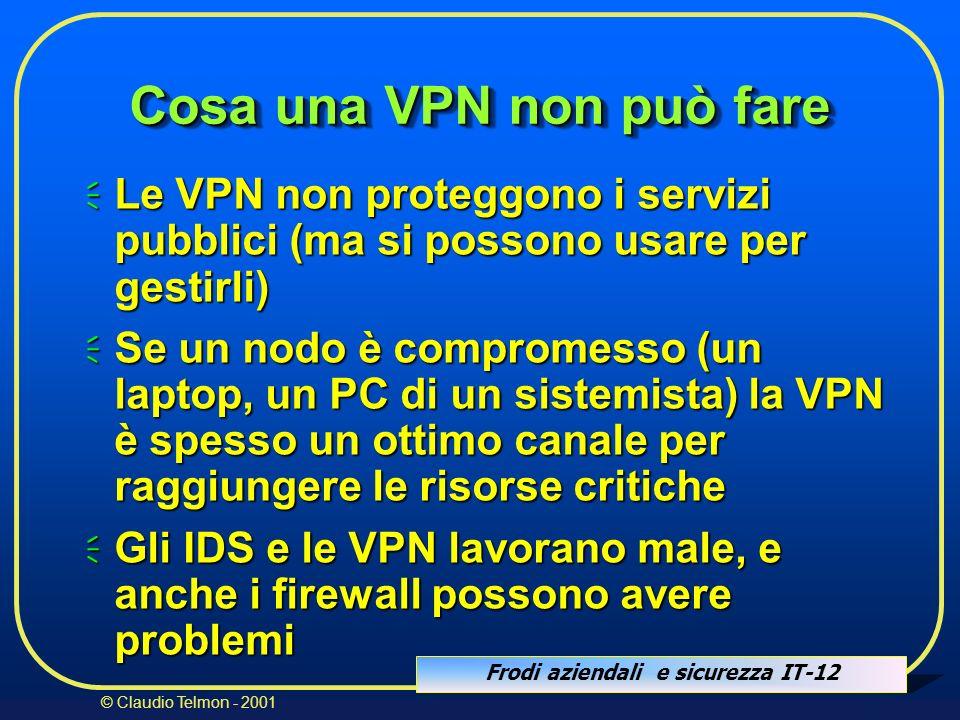 Cosa una VPN non può fare