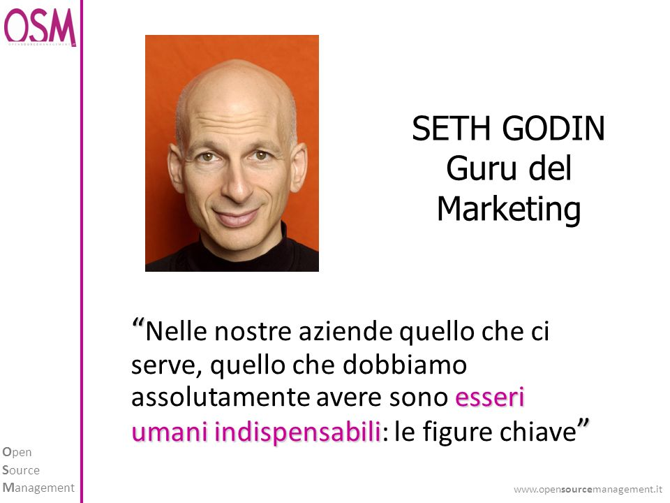 SETH GODIN Guru del Marketing.