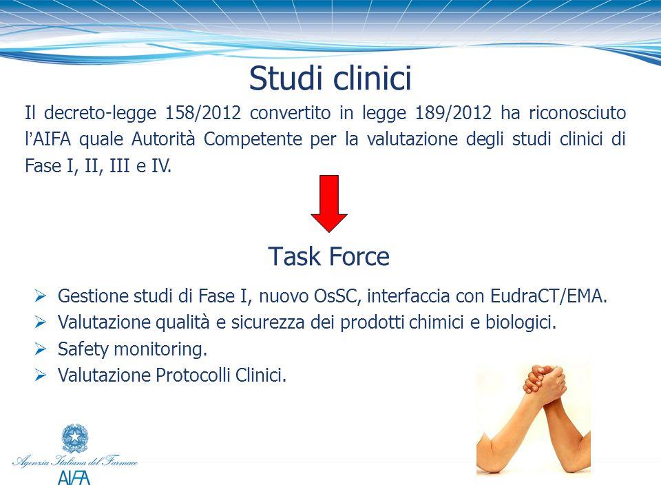 Studi clinici Task Force